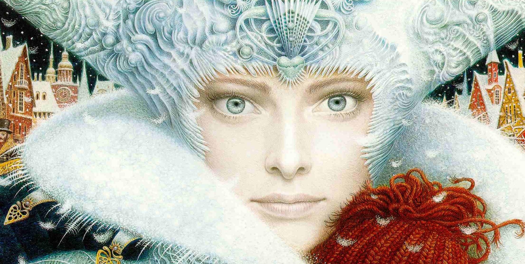 картинки иллюстрации к сказке снежная королева